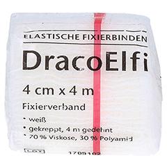 DRACOELFI elast.Fixierbinde 4 cmx4 m gekrep.cello 1 Stück