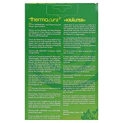 THERMACURA Kräuter Pflaster 3 Stück - Rückseite