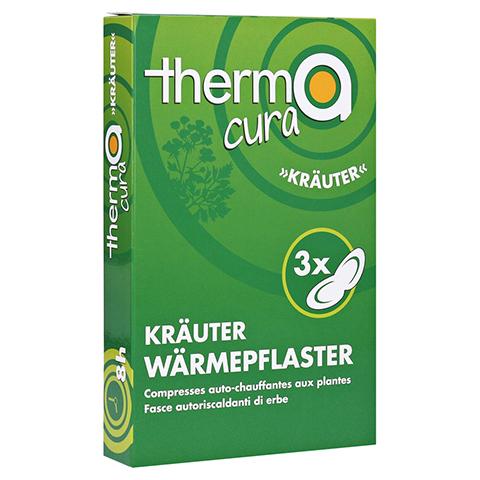 THERMACURA Kräuter Pflaster 3 Stück