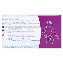 GERATHERM infection control Harnwegsinfektionstest 3 Stück - Rückseite