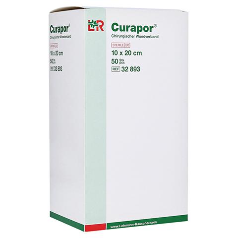 CURAPOR Wundverband steril chirurgisch 10x20 cm 50 Stück