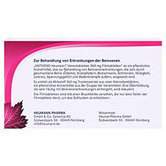 ANTIVENO Heumann Venentabletten 90 Stück - Rückseite