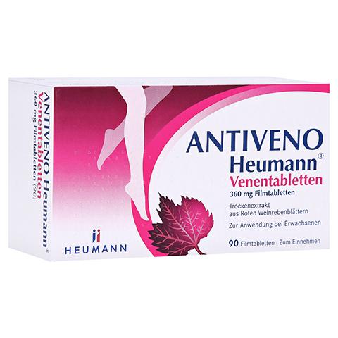 ANTIVENO Heumann Venentabletten 90 Stück