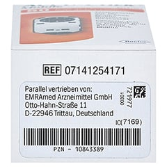 ACCU-CHEK Mobile Testkassette Plasma II 50 Stück - Unterseite