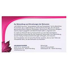 ANTIVENO Heumann Venentabletten 360mg 30 Stück - Rückseite