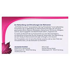 ANTIVENO Heumann Venentabletten + gratis Lippenpflegestift Antiveno 30 Stück - Rückseite