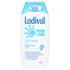 LADIVAL trockene Haut Apres Pflege Milch 200 Milliliter