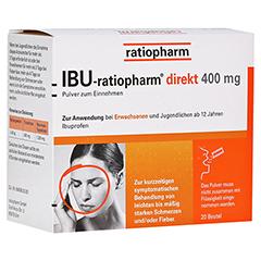 IBU-ratiopharm direkt 400mg 20 Stück
