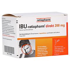IBU-ratiopharm direkt 200mg 20 Stück