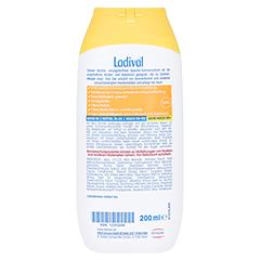 Ladival Kinder Sonnengel allergische Haut LSF 50+ + gratis Ladival Malheft 200 Milliliter - Rückseite