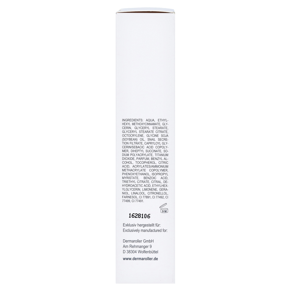 Cc Cream By Dermaroller Colour Correcting With Snail Slime 30 Ml Secretion Filtrate Moisture Facial Gmbh 12587387