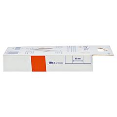 DERMAPLAST FLEXIBLE Wundpflaster 8x10 cm 10 Stück - Linke Seite