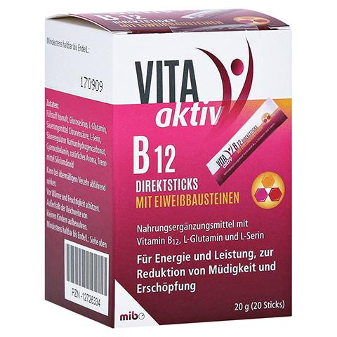 VITA AKTIV B12 Direktsticks mit Eiweißbausteinen 20 Stück