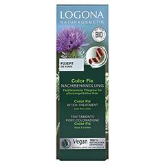 LOGONA Color Fix Nachbehandlung 100 Milliliter - Vorderseite