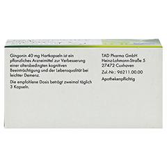 Gingonin 40mg 60 Stück N2 - Unterseite