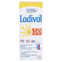 Ladival Kinder Creme LSF 50+ 50 Milliliter - Vorderseite