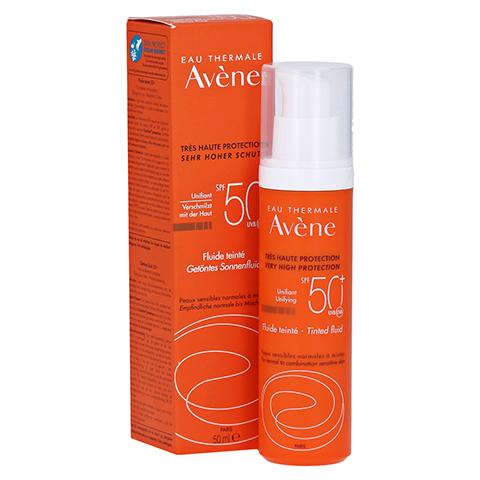 Avène Sonnenfluid SPF 50+ getönt 50 Milliliter