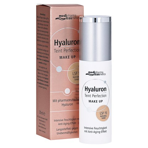 medipharma Hyaluron Teint Perfection Make up Natural Sand 30 Milliliter