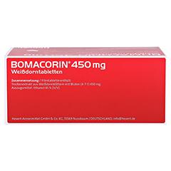 Bomacorin 450mg Weißdorntabletten 200 Stück - Unterseite