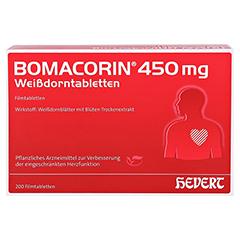 Bomacorin 450mg Weißdorntabletten 200 Stück - Vorderseite