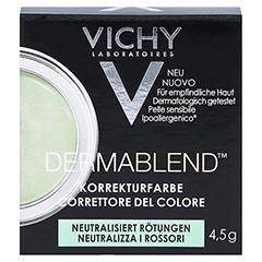 VICHY DERMABLEND Korrekturfarbe grün Creme 4.5 Gramm - Vorderseite