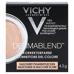 VICHY DERMABLEND Korrekturfarbe apricot Creme 4.5 Gramm - Vorderseite