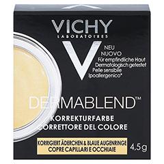 VICHY DERMABLEND Korrekturfarbe gelb Creme 4.5 Gramm - Vorderseite