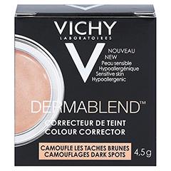 VICHY DERMABLEND Korrekturfarbe apricot Creme 4.5 Gramm - Rückseite