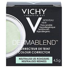 VICHY DERMABLEND Korrekturfarbe grün Creme 4.5 Gramm - Rückseite