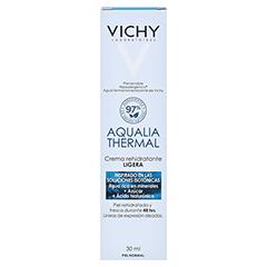 Vichy Aqualia Thermal Feuchtigkeitspflege leicht 30 Milliliter - Rückseite