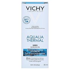 Vichy Aqualia Thermal Feuchtigkeits-Serum 30 Milliliter - Rückseite