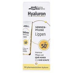 HYALURON SONNENPFLEGE Lippen LSF 50+ 7 Milliliter - Vorderseite