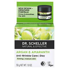 DR.SCHELLER Argan&Amaranth Anti-Falten Pfl.Tag 50 Milliliter - Rückseite