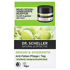 DR.SCHELLER Argan&Amaranth Anti-Falten Pfl.Tag 50 Milliliter - Vorderseite