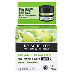 DR.SCHELLER Argan&Amaranth Anti-Falten Pfl.Nacht + gratis DR.SCHELLER Argan&Amaranth Anti-Falten Pfl.Tag 30 ml 50 Milliliter - Rückseite