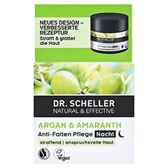 DR.SCHELLER Argan&Amaranth Anti-Falten Pfl.Nacht + gratis DR.SCHELLER Argan&Amaranth Anti-Falten Pfl.Tag 30 ml 50 Milliliter - Vorderseite