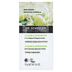 DR.SCHELLER Argan&Amaranth Anti-Falten Pflegemaske 10 Milliliter