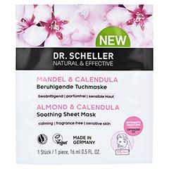 DR.SCHELLER Mandel&Calendula beruhigende Tuchmaske 16 Milliliter