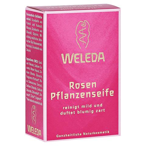 WELEDA Rosen Pflanzenseife 100 Gramm