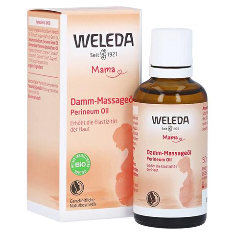 Weleda Damm-massageöl 50 Milliliter