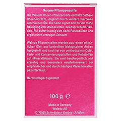 WELEDA Rosen Pflanzenseife 100 Gramm - Rückseite