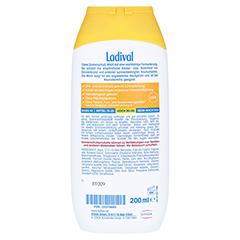 Ladival Kinder Sonnenmilch LSF 30 + gratis Ladival Malheft 200 Milliliter - Rückseite