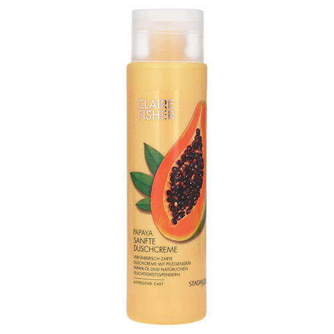 CLAIRE FISHER Nat.Classic Papaya Duschcreme 300 Milliliter