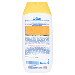 Ladival Kinder Sonnenmilch LSF 50+ 200 Milliliter - Rückseite