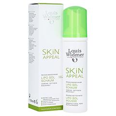 WIDMER Skin Appeal Lipo Sol Schaum unparfümiert 150 Milliliter