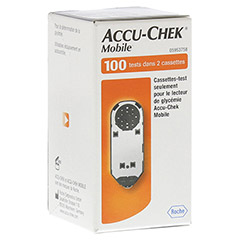 ACCU CHEK Mobile Testkassette Plasma II 100 Stück