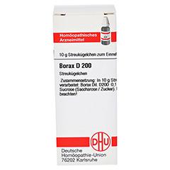 BORAX D 200 Globuli 10 Gramm N1 - Vorderseite