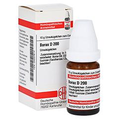 BORAX D 200 Globuli 10 Gramm N1