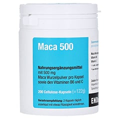 MACA 500 Kapseln 200 Stück