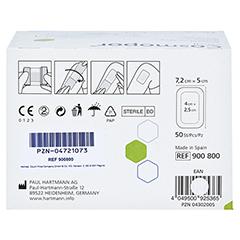 COSMOPOR steril Wundverband 5x7,2 cm CPC 50 Stück - Rückseite